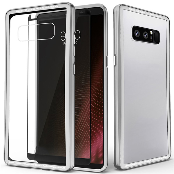 2018 TPU PC Case with Screen Protector For Samsung Galaxy Note 8
