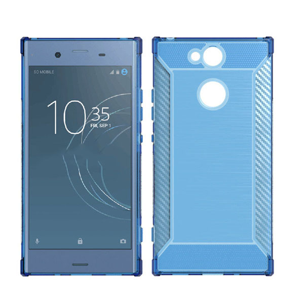 Brush Shockproof TPU Case for SONY Xperia XA2 Case