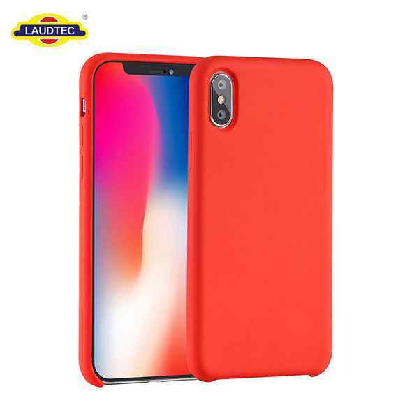 Liquid silicone rubber mobile phone cover for iphone x case