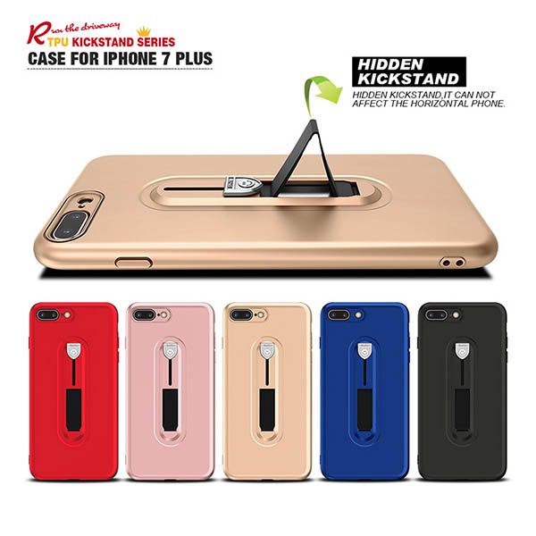 Fashion TPU Carriage way Case for iphone 7 plus
