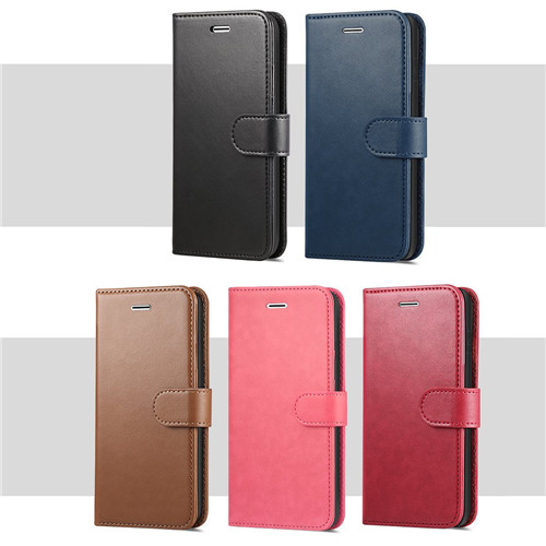 Luxurious Genuine Leather Wallet Flip Case For HTC U12 Plus