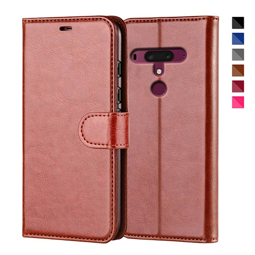 HTC U12 Plus Flip PU Leather Phone Case
