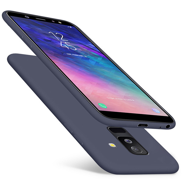 Samsung A6 Plus Ultra Thin Liquid Silicone Case