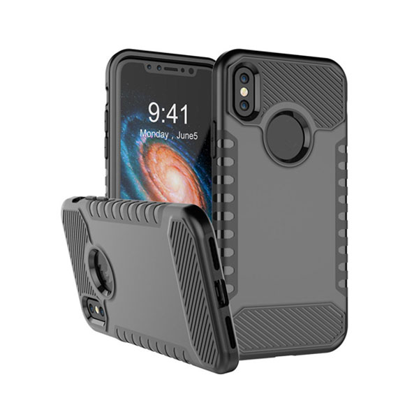 Silicone TPU+PC Case for Iphone X Cover
