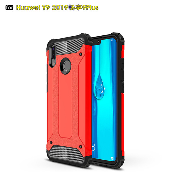 Full protection PC material case for Huawei Y9