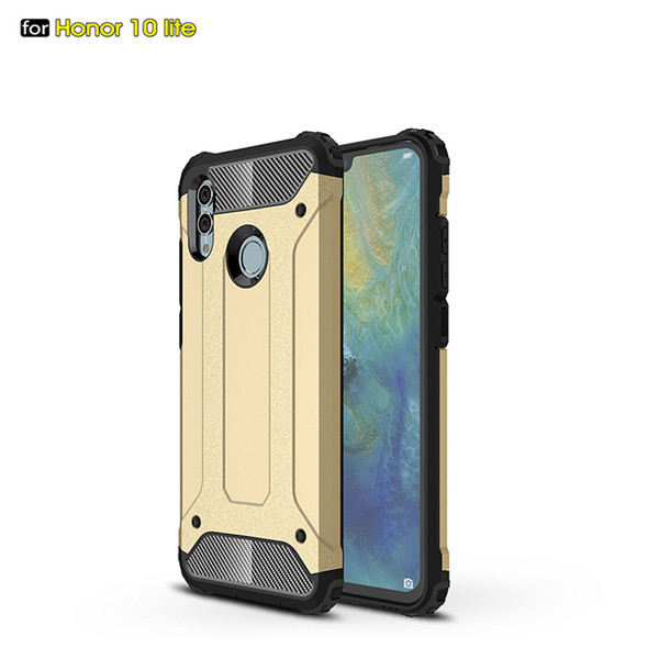 Tough rugged design telephone case for Honor10 lite