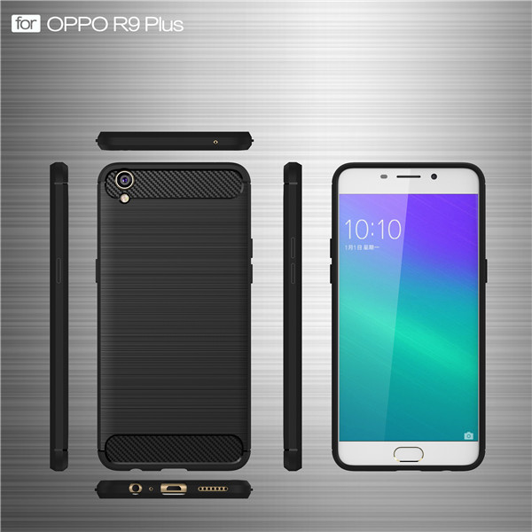 High quality TPU ultra thin case for OPPO R9 Plus