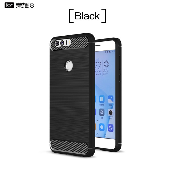 New Carbon fiber drop protection phone case for Honor 8