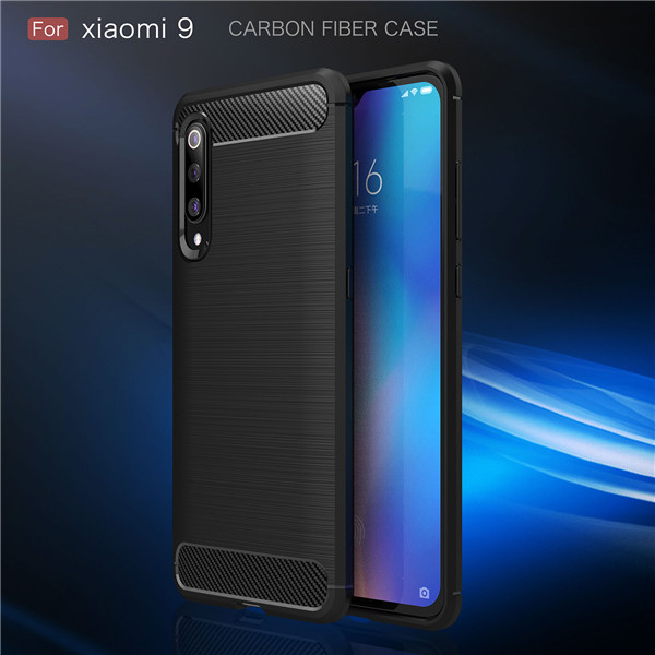 Laudtec screen protection tpu injection case for XiaoMi 9