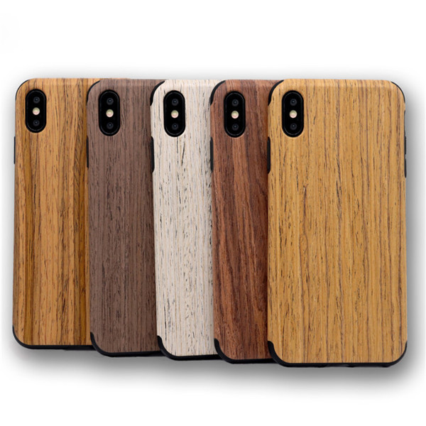 Laudtec elegant profile wooden cellphone cover for iphone XS