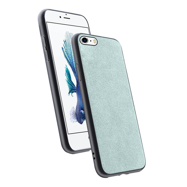 Good grade original suede leather case for iphone 6S