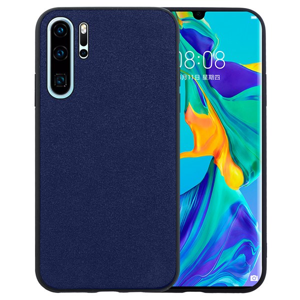 Laudtec comfortable touch suede cell back cover material for Huawei P30 Pro