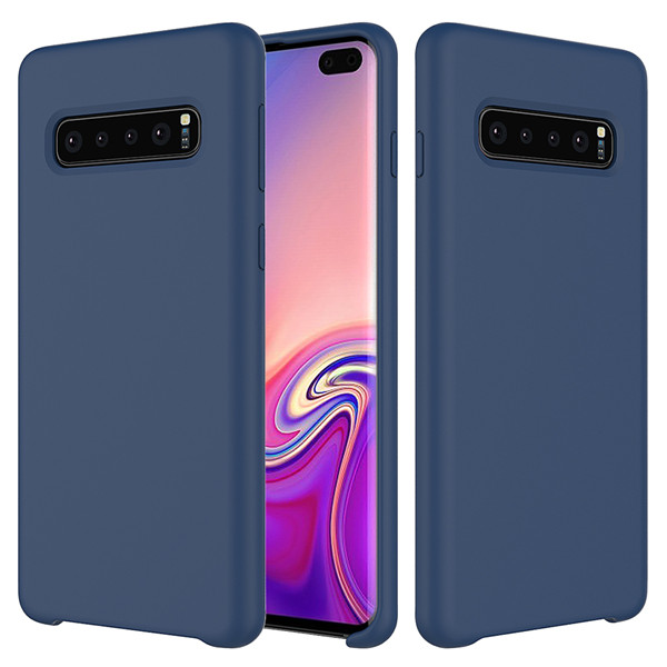 2019 Fashionable super silm silicone cover for Samsung Galaxy S10