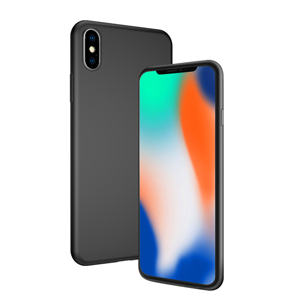 Laudtec lightweight urtal slim silicone case for iphone X