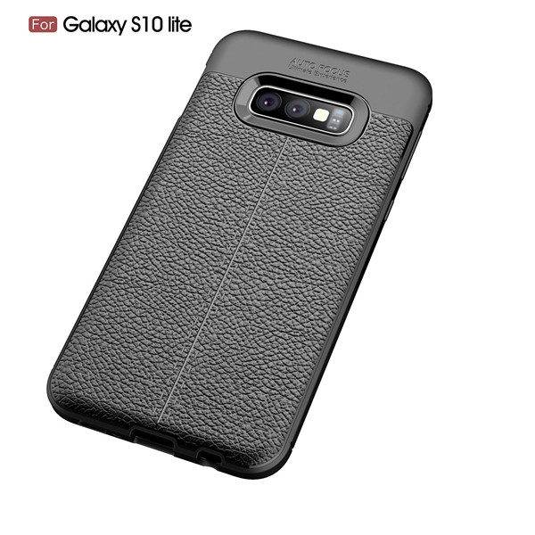 Laudtec good quality litchi leather texture case for Samsung Galaxy S10 Lite