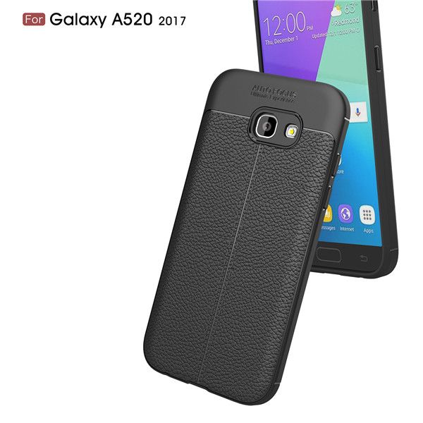 Hot sellling Flexible TPU design tele case for Samsung Galaxy A520