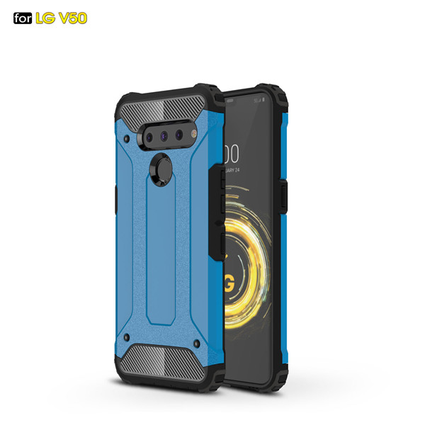 Heavy Duty Armour Shockproof Full Phone Cover For LG V50