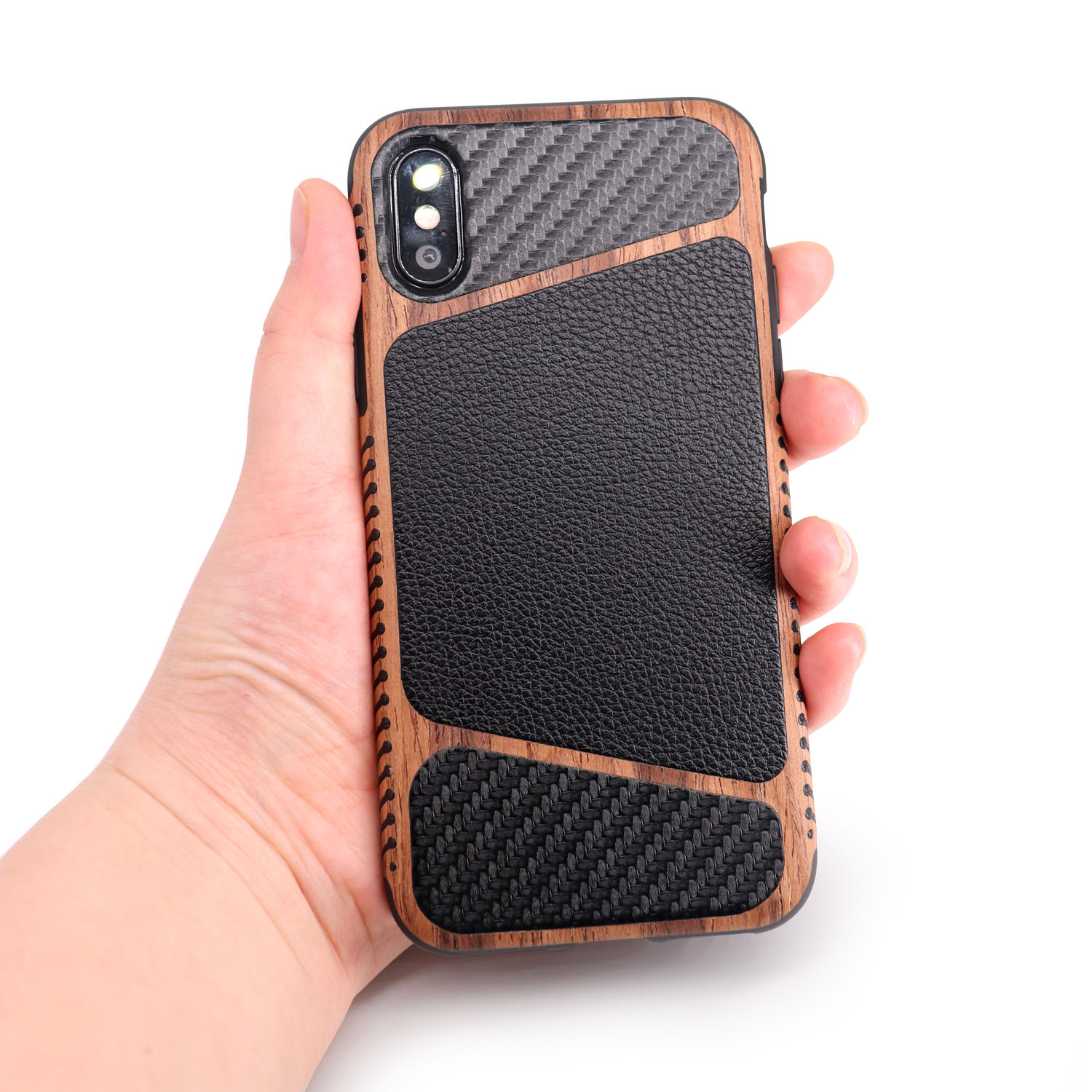 Lychee TPU phone case for  iphone 7 plus