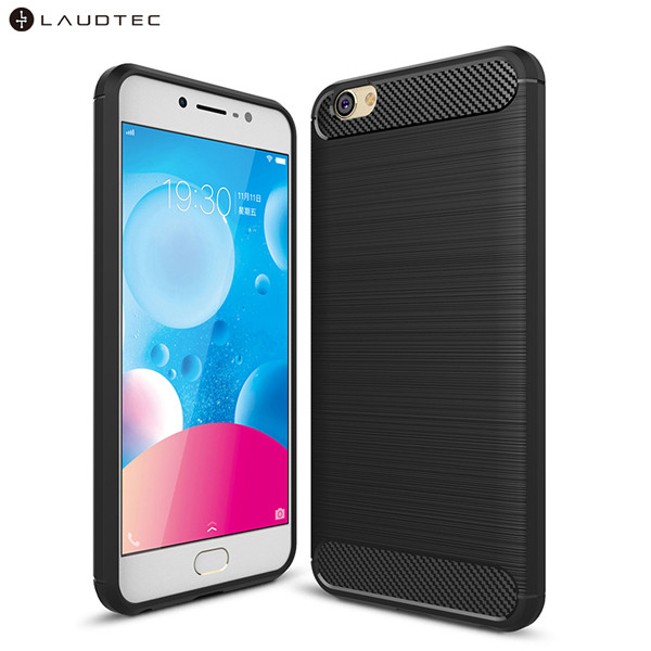 new Carbon Fiber Soft Tpu Back Cover Phone Case For Vivo Y67