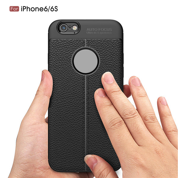 new Stylish TPU Carbon Fiber Design Mobile Phone Case for iPhone6/6s