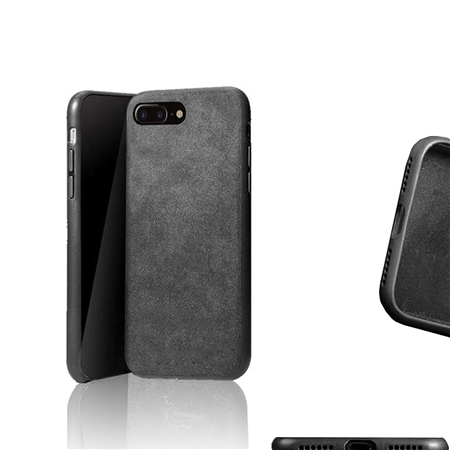 Laudtec 2019 New Arrivals Alcantara Phone Case With Band Strap For iPhone