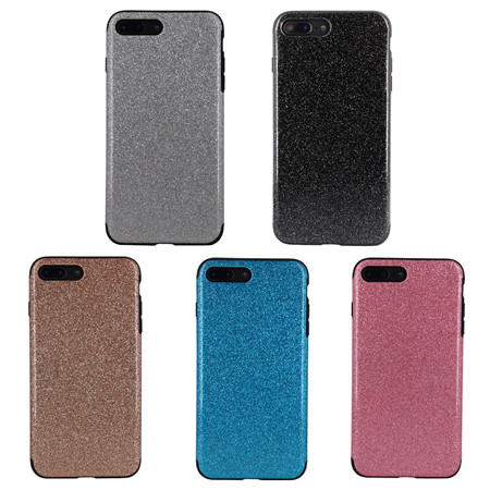 2019 new design sparkle injection case for iphone 7plus