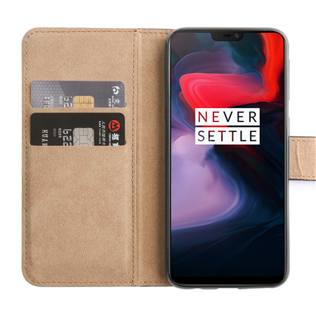 2019 new leather wallet phonecase for One Plus 6