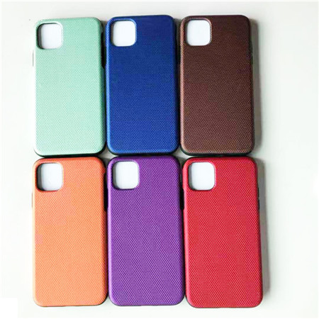 Carbon fiber cell phone case use for iphone 11