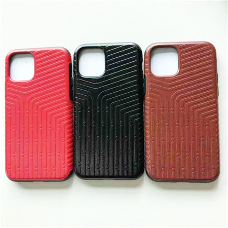New leather case for iphone 11 total package side
