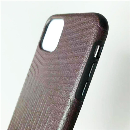 Litchi skin pattern mobile phone case use for iphone 11