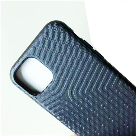Carbon fiber phone case strong and durable use for iphone 11