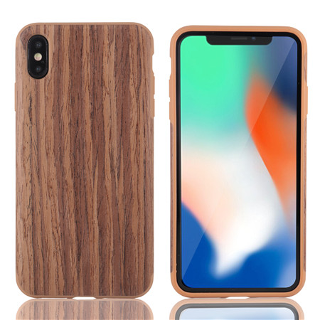 The new material wood grain use for iphone xs max