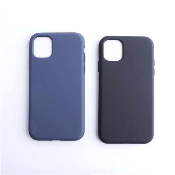 New material stick leather mobile phone case use for iphone 11