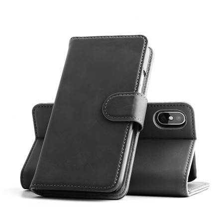 Genuine leather phone case for iphone 12 x