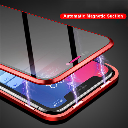 Magnetic Adsorption phone case for iphone 7/8/7p/8p/x/xs/xs max