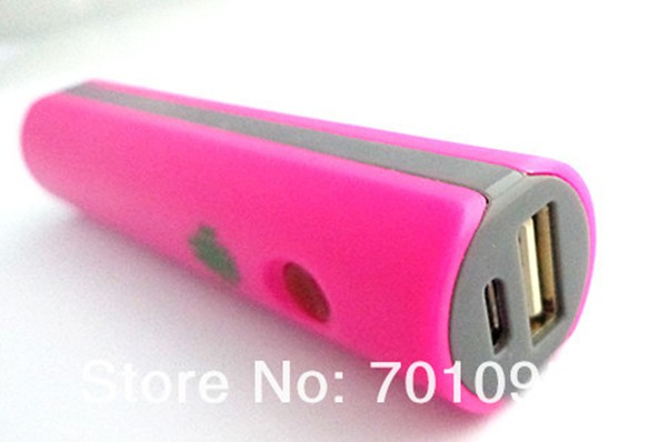 iPhone Phone 2600mAh Power Bank Charger