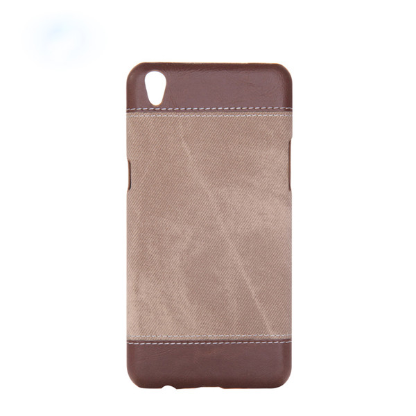 Denim Jeans Back Case Cover For Oppo R9 Plus