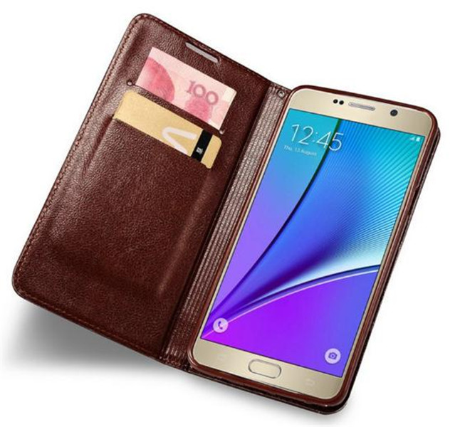 Flip Leather Case for Samsung Galaxy Note 7