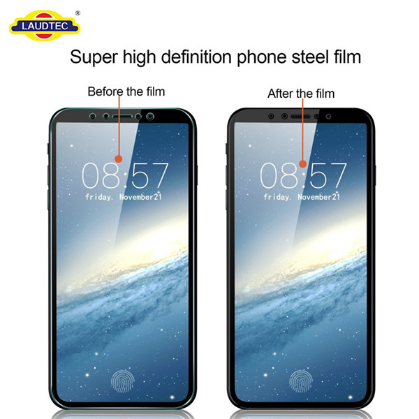 For IPhone 8 Screen Protector Toughened 9H Clear Tempered Glass