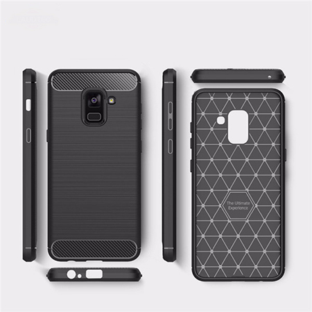 Carbon Fiber Cover For Samsung Galaxy S9 Case
