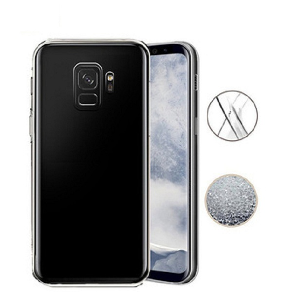 Transparent soft gel tpu cover case for Samsung Galaxy S9