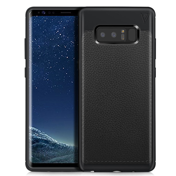 Soft Silicon Shockproof  leather Cover for Samsung Galaxy Note 8 case