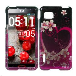 LG OPTIMUS F3 LS720 Rubberized Case