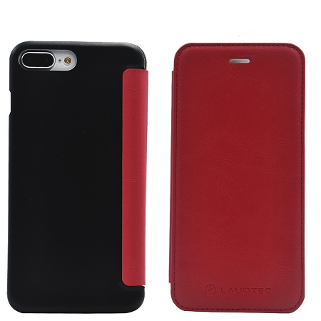 iphone 8 Ultra Slim PU Leather Magnetic Back Case