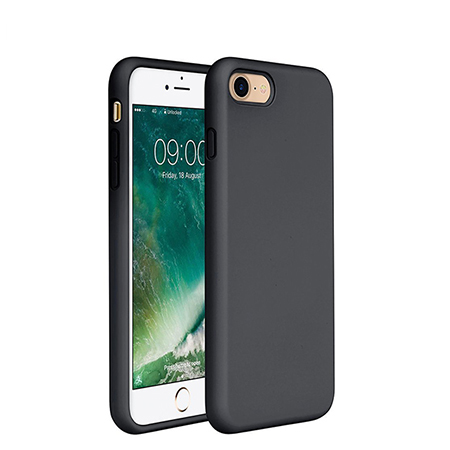 Full body smooth and  stylish liquid silicone case for iphone 7