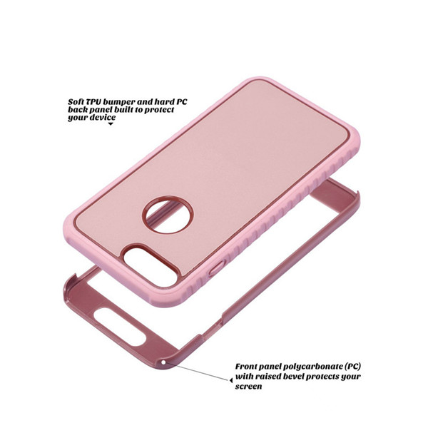 Shockproof Front And Back Hard Pc Bumper Case